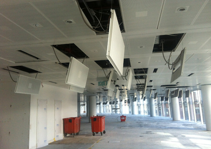 Ceiling Tile Cleaning vs. Ceiling Tile Replacement - Cost Comparison