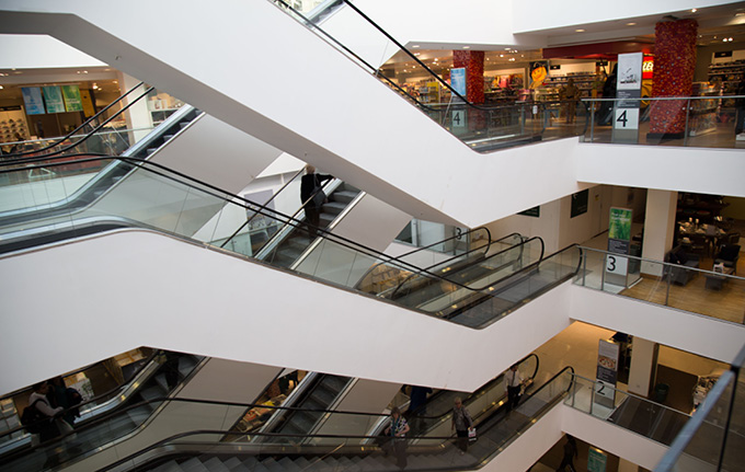 Calabash pletes suspended ceiling cleaning in John Lewis Store